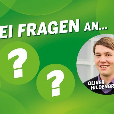 Drei Fragen an Oliver Hildenbrand