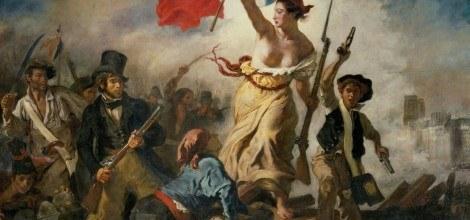 Foto: Französische Revolution - Marianne stürmt die Barrikaden