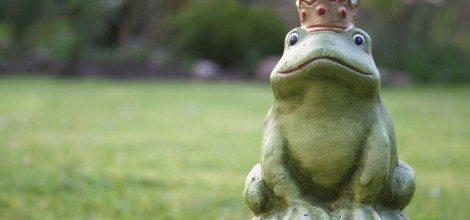 Foto: Getöpferter Froschkönig