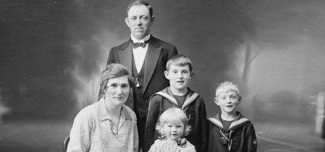 Foto: Historisches Familienbild
