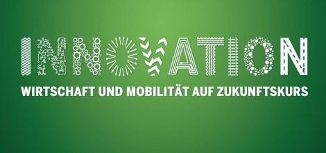 Grafik: Innovation - Wirtschaft und Mobilität auf Zukunftskurs