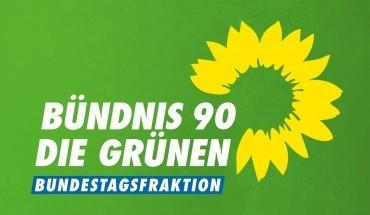 Grafik: Logo der Bündnis 90 Die Grünen Bundestagsfraktion