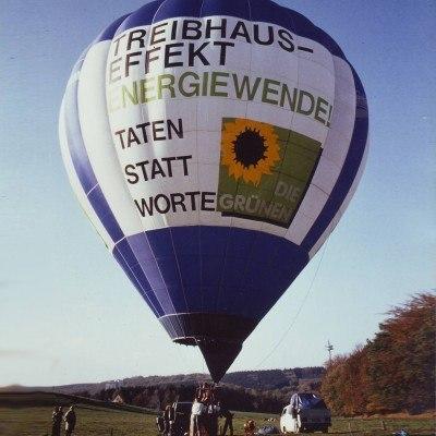 Bildnachweis: Heissluftballon für Energiewende
