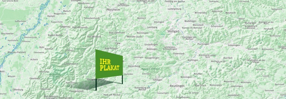 Grafik: Ihr Plakat für ein grünes Baden-Württemberg