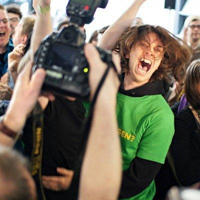 Bildnachweis: Jubelnde Grüne Jugend