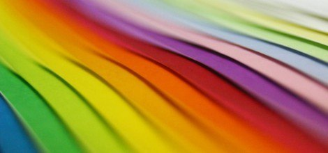 Foto: Regenbogenpapier