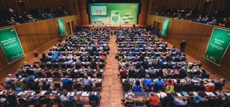 Foto: Blick auf die Delegierten beim Parteitag in Reutlingen