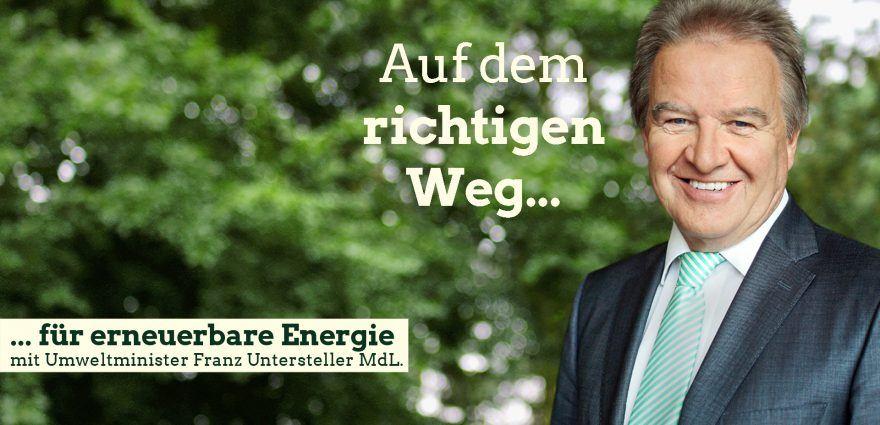 Foto: Auf dem richtigen Weg für erneurbare Energie mit Umweltminister Franz Untersteller