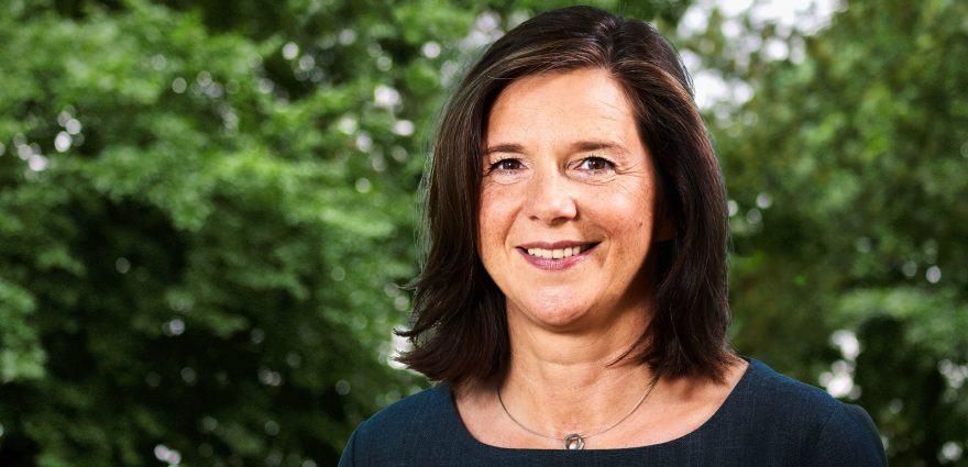 Foto: Spitzenkandidatin Katrin Göring-Eckardt