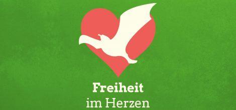 Grafik: Freiheit im Herzen
