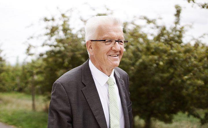 Foto: Ministerpräsident Winfried Kretschmann