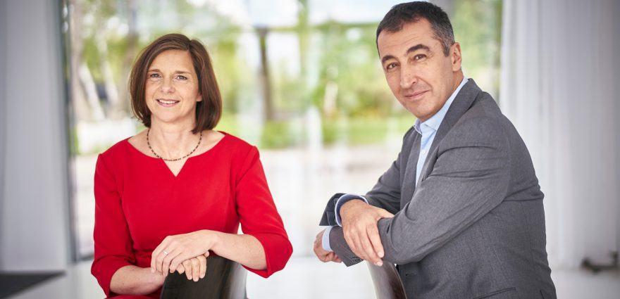 Foto: Grünes Spitzenduo Katrin Göring-Eckardt und Cem Özdemir