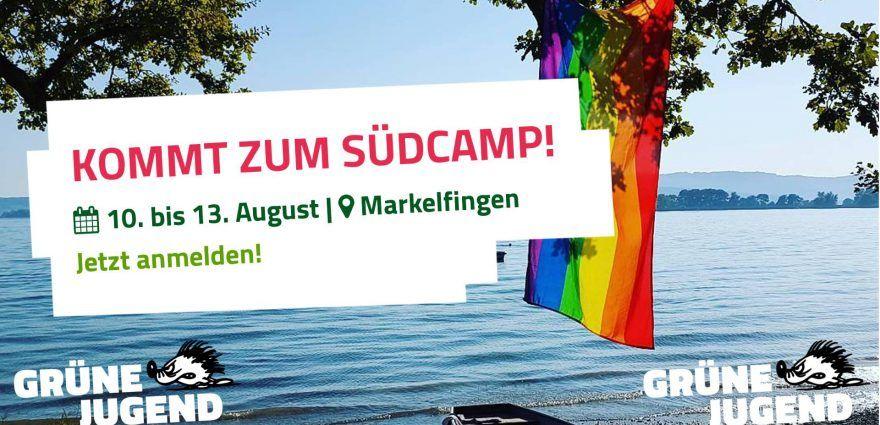 Grafik: Südcamp der Grünen Jugend 2017