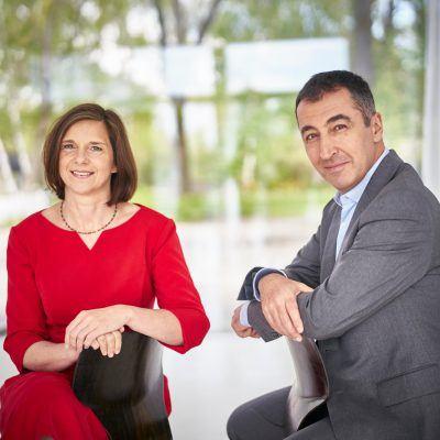 Foto: Unser Grünes Spitzenduo Katrin Göring-Eckardt und Cem Özdemir