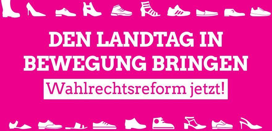 Grafik: Den Landtag in Bewegung bringen