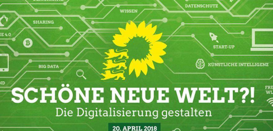 Grafik: Digitalisierung - Schöne neue Welt?!