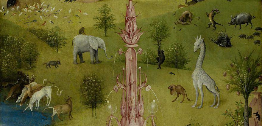Foto: Gemälde - Der Garten Eden