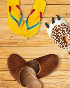 Foto: Viele verschiedene Schuhe