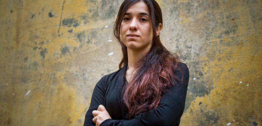 Foto: Friedensnobelpreisträgerin Nadia Murad