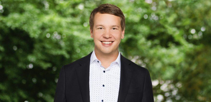 Foto: Grüner Landesvorsitzender Oliver Hildenbrand
