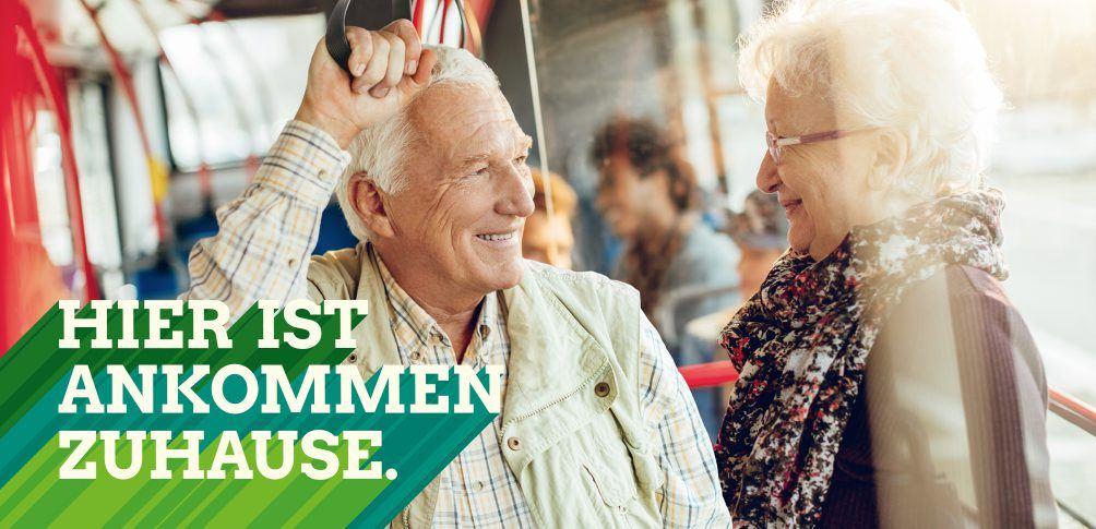Foto: Hier ist Ankommen zuhause - Senioren im ÖPNV