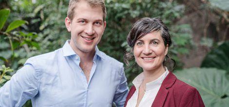 Foto: Europakandidat*innen Anna Deparnay-Grunenberg und Michael Bloss
