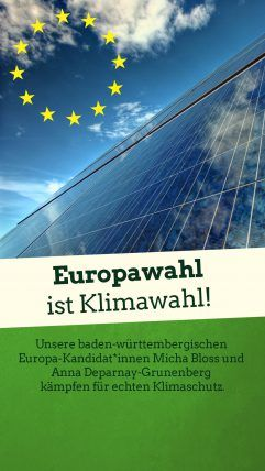 Foto: Europawahl ist Klimawahl