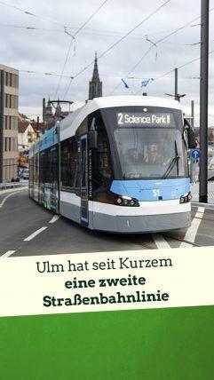 Foto: Straßenbahn Ulm