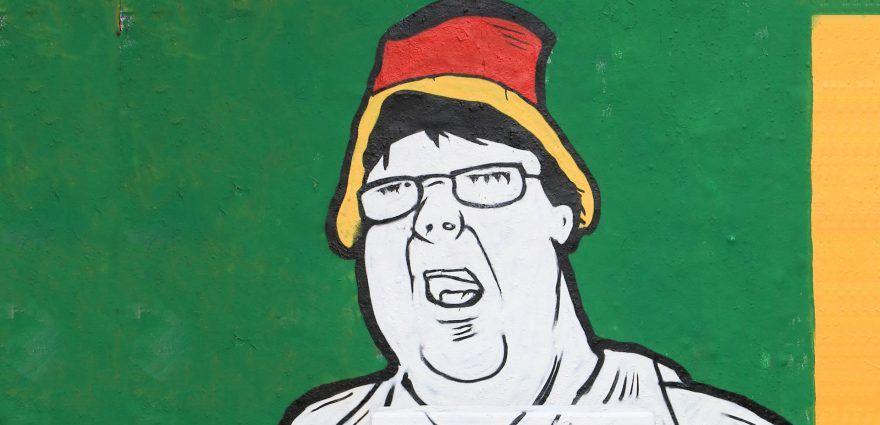 Graffitti: Hutbürger / Wutbürger
