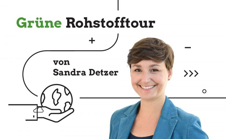 Grafik: Grüne Rohstofftour von Sandra Detzer