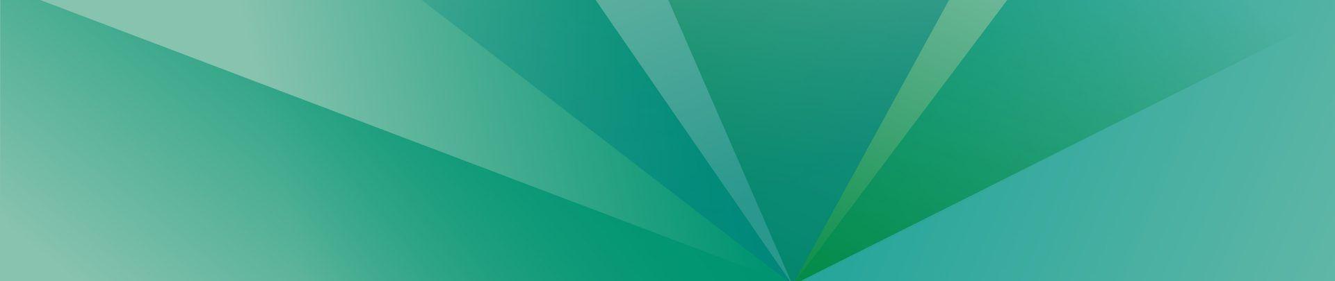 Grafik: Grüner Fächer