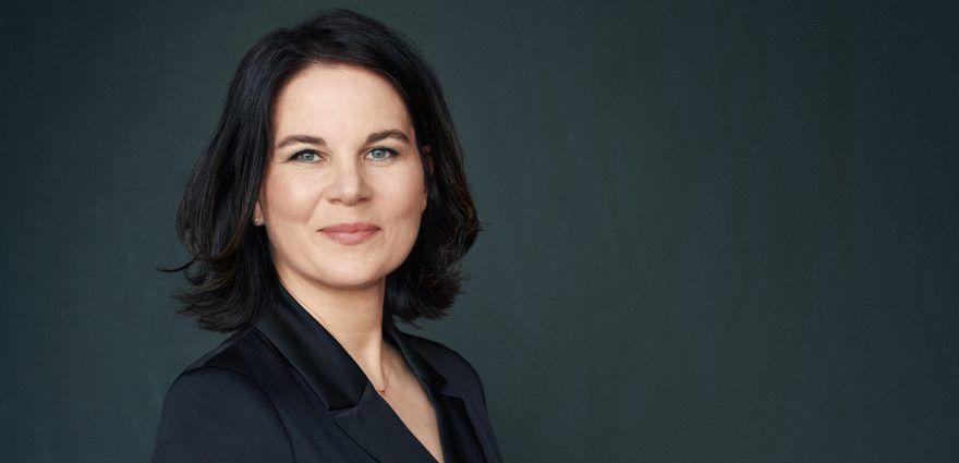 Foto: Kanzlerkandidatin Annalena Baerbock