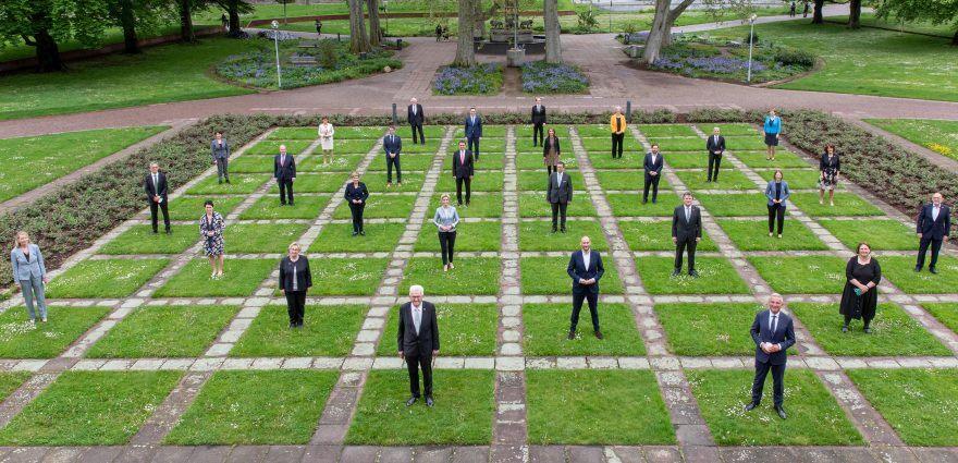 Foto: Die neue grün-schwarze Landesregierung