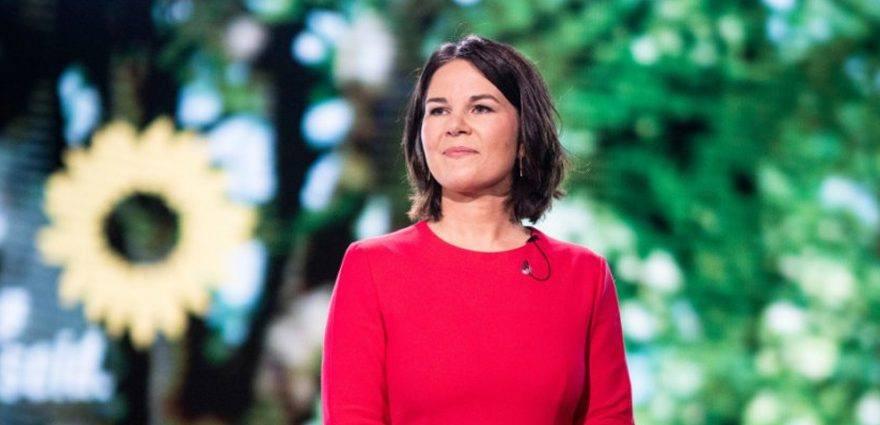 Foto: Annalena Baerbock auf dem digitalen Parteitag