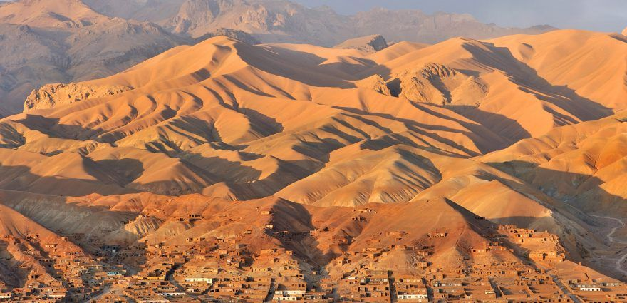 Foto: Blick auf ein afghanisches Dorf